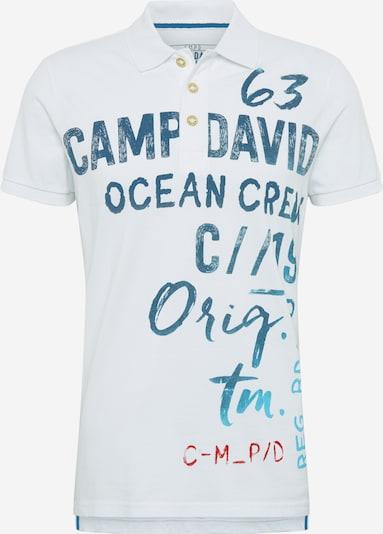 CAMP DAVID Shirt in blau / rot / weiß, Produktansicht