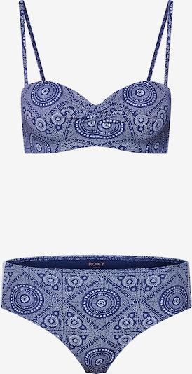 ROXY Bikini 'TO THE BEACH REG M BAND FUL BOT' w kolorze niebieski / białym, Podgląd produktu