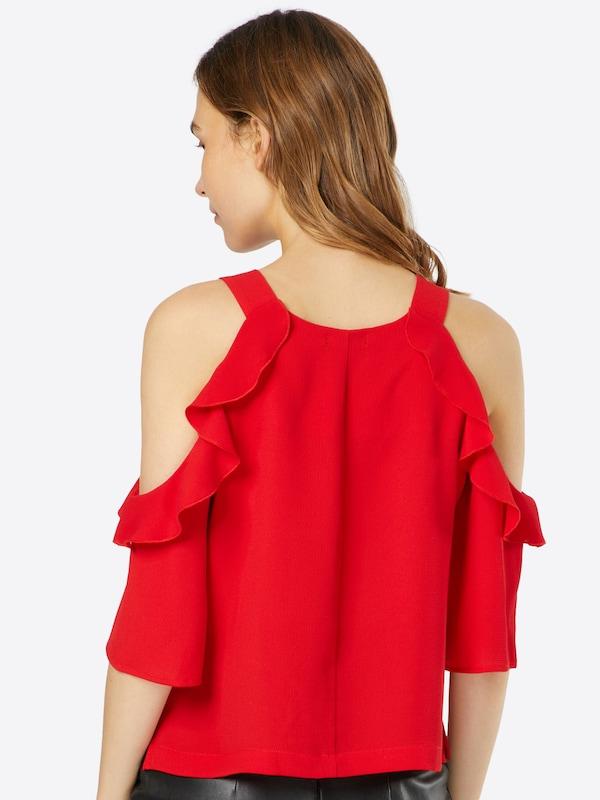 Boohoo Cold-Shoulder-Bluse