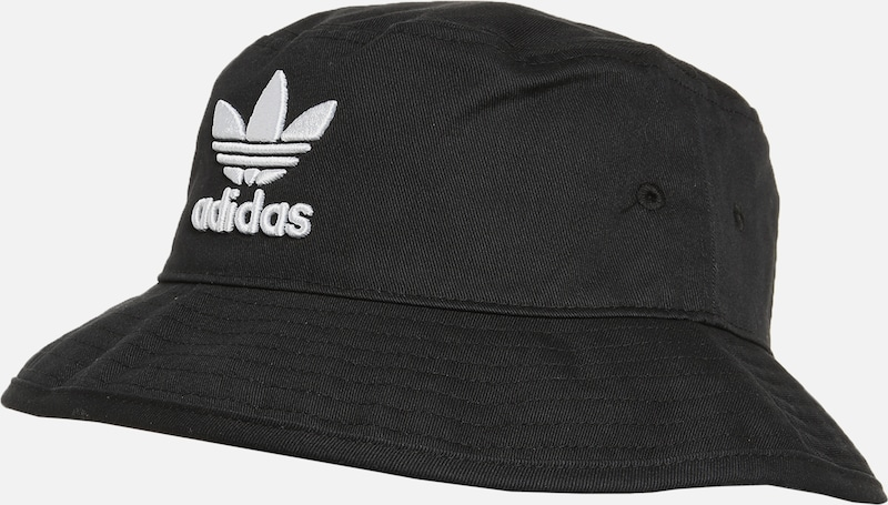 ADIDAS ORIGINALS Hut 'Bucket Hat' in schwarz / weiß, Produktansicht