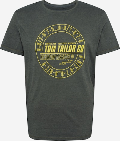 TOM TAILOR Shirt in gelb / khaki, Produktansicht