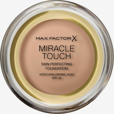 MAX FACTOR Foundation 'Miracle Touch' in goldgelb, Produktansicht