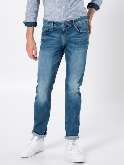 kék farmer EDC BY ESPRIT Farmer 'OCS 5 Pkt SLIM Pants denim', Modell nézet