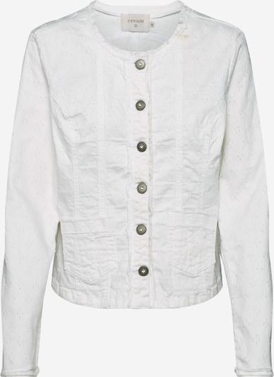 Cream Prehodna jakna 'Robina' | bela barva, Prikaz izdelka