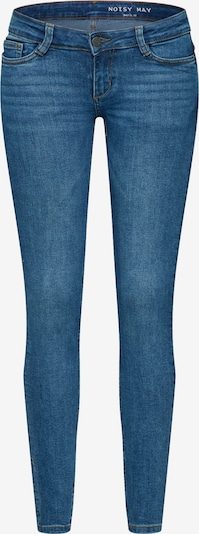 Noisy may Jeans 'NMEVE LW SKINNY ORGANIC JEANS CS027MB BG' in blue denim: Frontalansicht