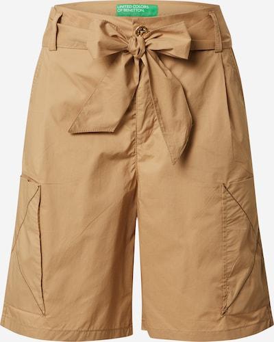 Pantaloni cutați UNITED COLORS OF BENETTON pe bej deschis, Vizualizare produs