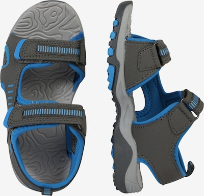 KangaROOS Sandale 'Logan' in blau / dunkelgrau: Seitenansicht