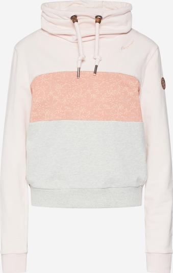 Megztinis be užsegimo 'Vionchela' iš Ragwear , spalva - lašišų spalva / rožių spalva / balta, Prekių apžvalga