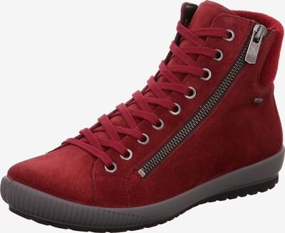 Legero Sneaker in dunkelrot, Produktansicht