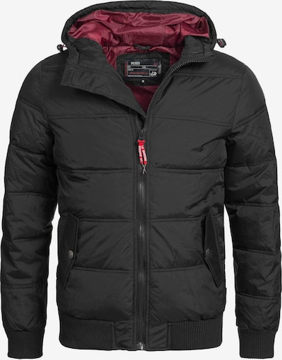 INDICODE JEANS Winterjas ' Adrian ZA ' in de kleur Zwart, Productweergave