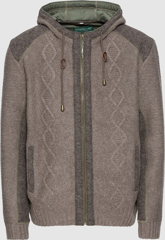 COUNTRY LINE Trachtenjacke in taupe  Große Preissenkung