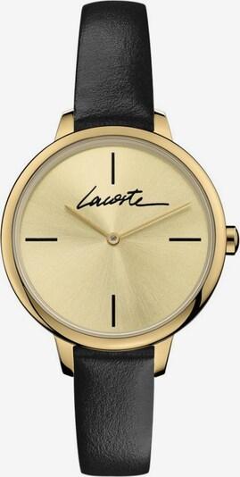 LACOSTE Uhr in gold / schwarz, Produktansicht