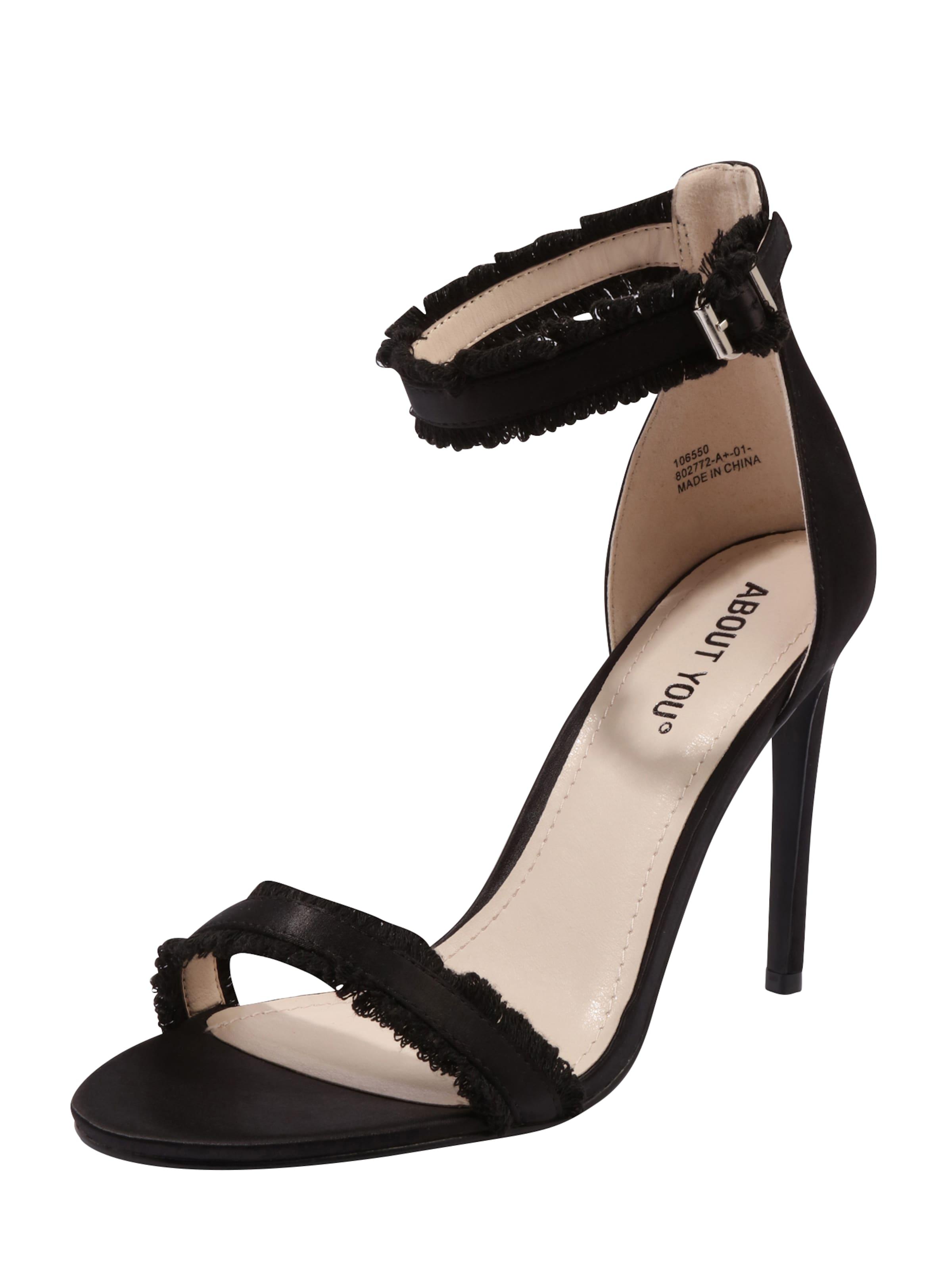 A Propos De Vous Sangle De La Ava 'sandales Noires YiAZUa