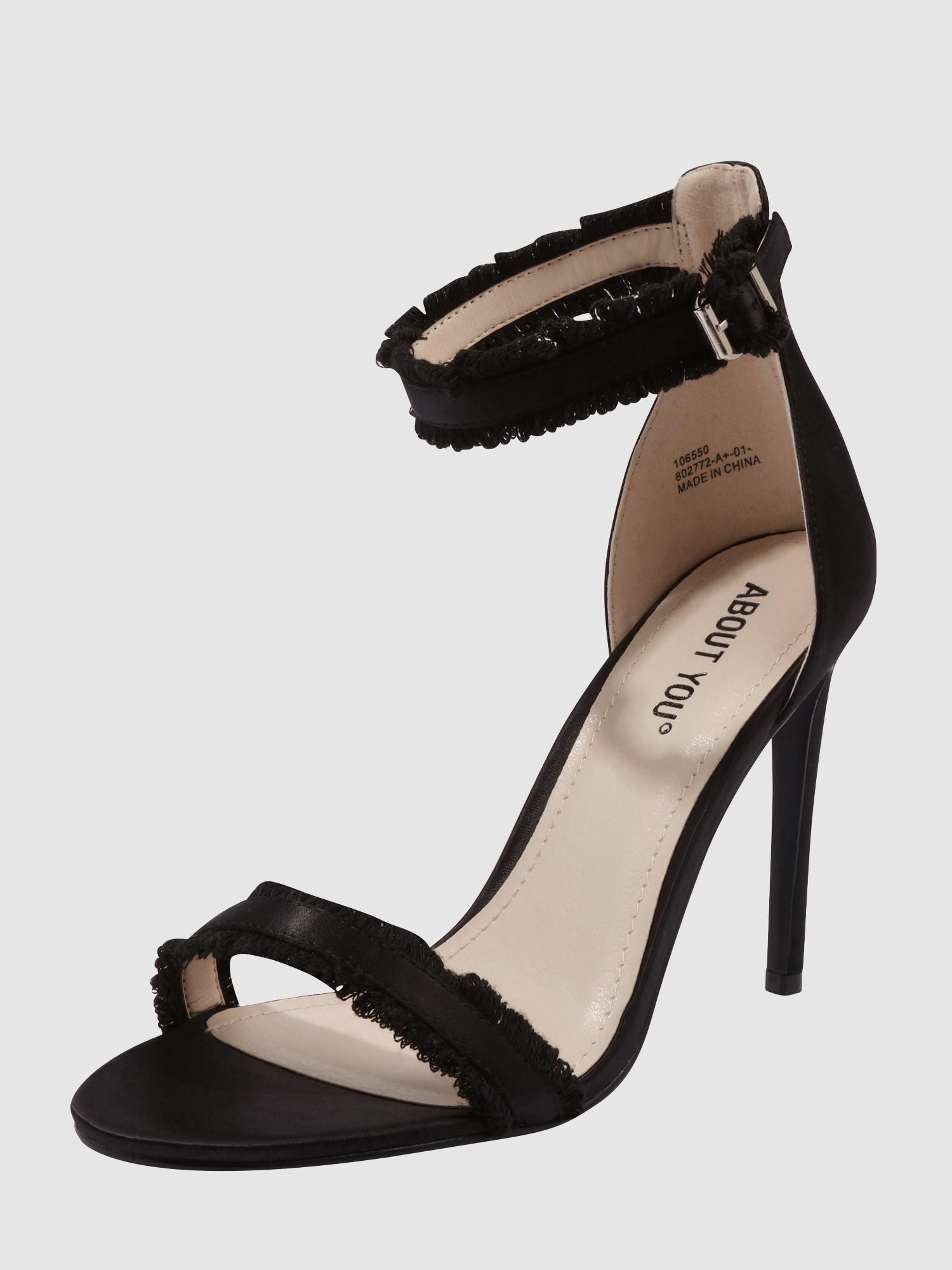 about you high heel sandalette mit riemchen 39 ava 39 in. Black Bedroom Furniture Sets. Home Design Ideas