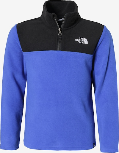 THE NORTH FACE Fleecepullover 'Glacier' in blau / schwarz, Produktansicht