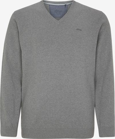 s.Oliver Men Big Sizes Pullover in graumeliert, Produktansicht
