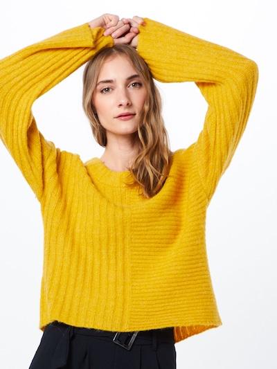 Noisy may Pull-over en jaune foncé: Vue de face