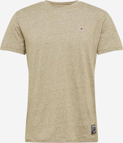 Tommy Jeans Shirt in de kleur Olijfgroen, Productweergave