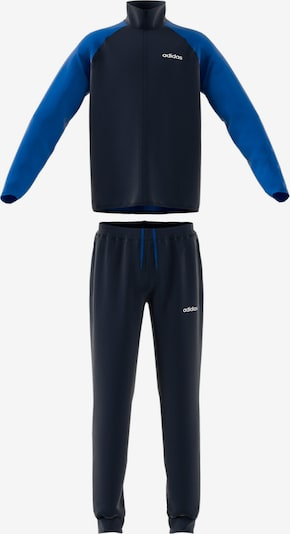 ADIDAS PERFORMANCE Trainingsanzug in blau / ultramarinblau, Produktansicht