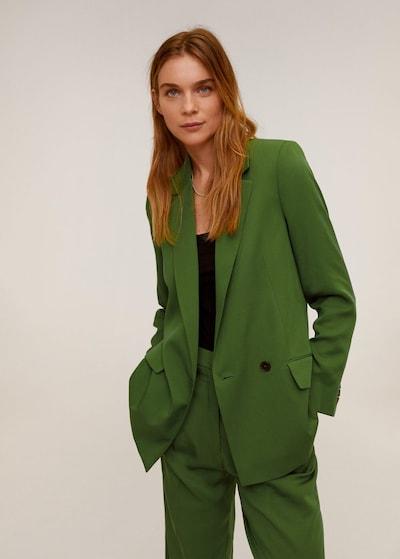 MANGO Blazer 'monaco' in grün, Modelansicht