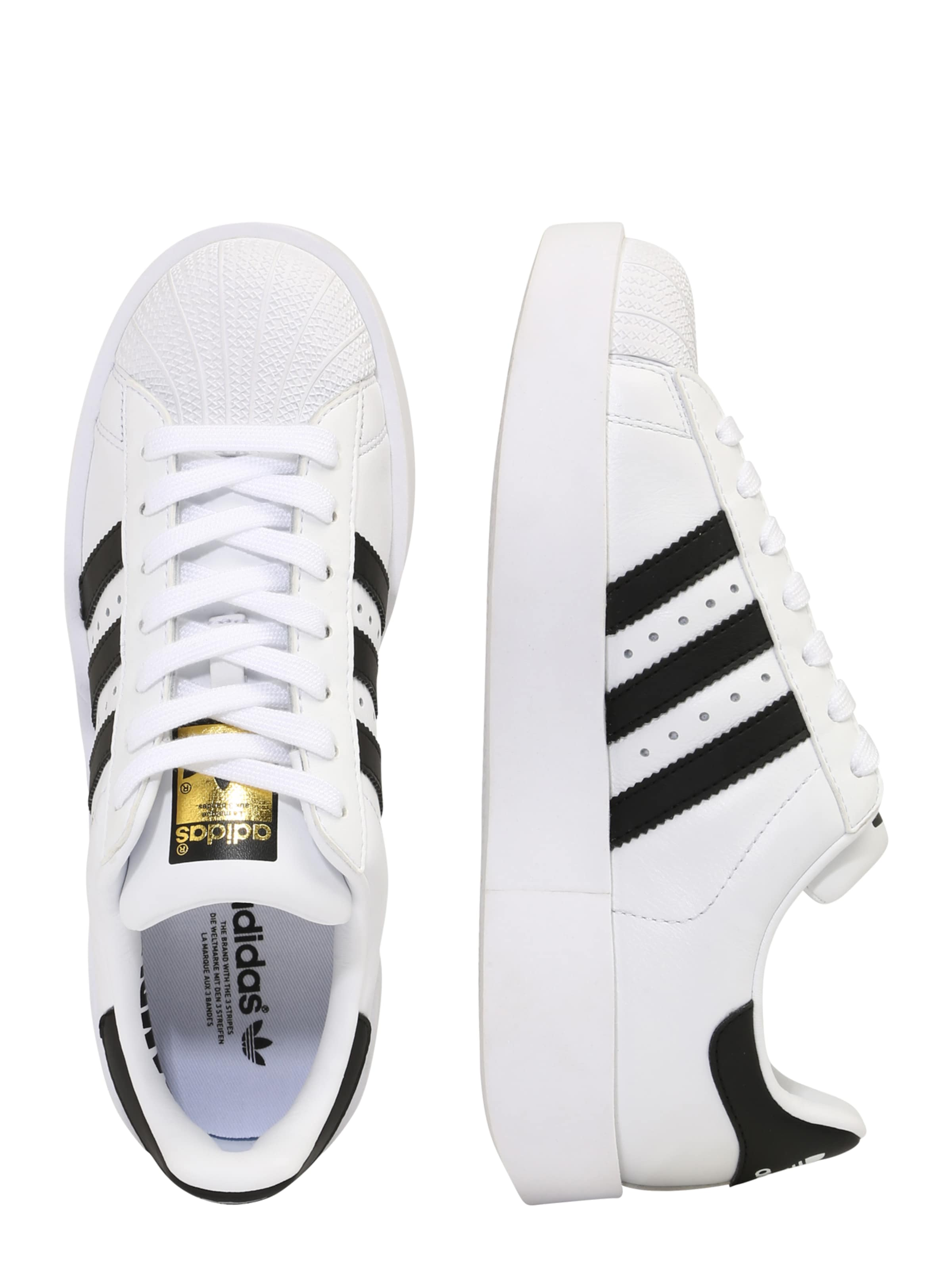 Sneaker 'superstar In SchwarzWeiß Originals Adidas Bold' 5L4AjRc3q