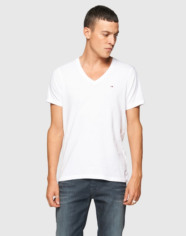 Tommy Jeans T-shirt With V-neck Original