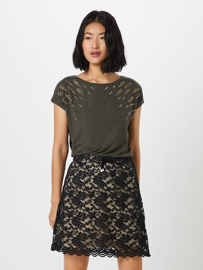 ABOUT YOU Shirt in khaki: Frontalansicht