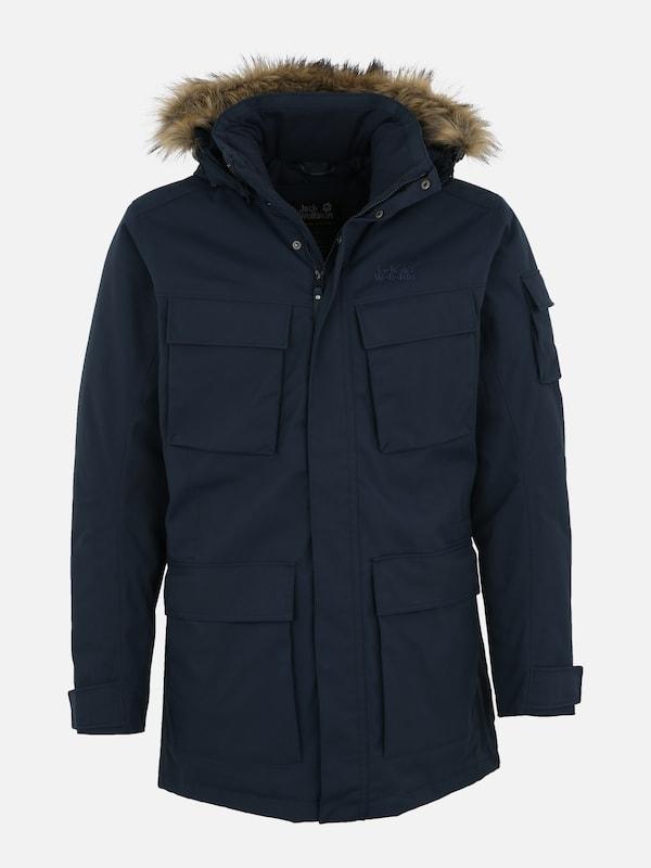 goedkoper nieuwe afbeeldingen van Britse beschikbaarheid JACK WOLFSKIN Outdoorjas in Donkerblauw