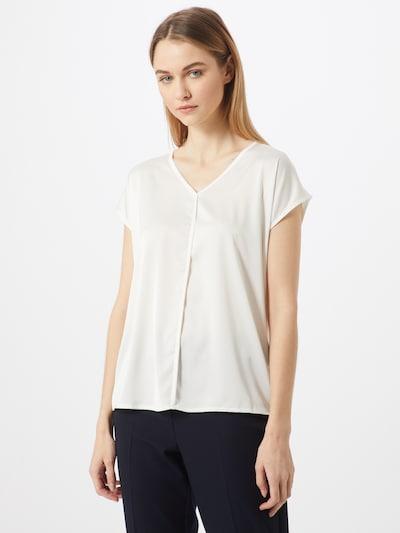 MORE & MORE Blusenshirt in weiß, Modelansicht