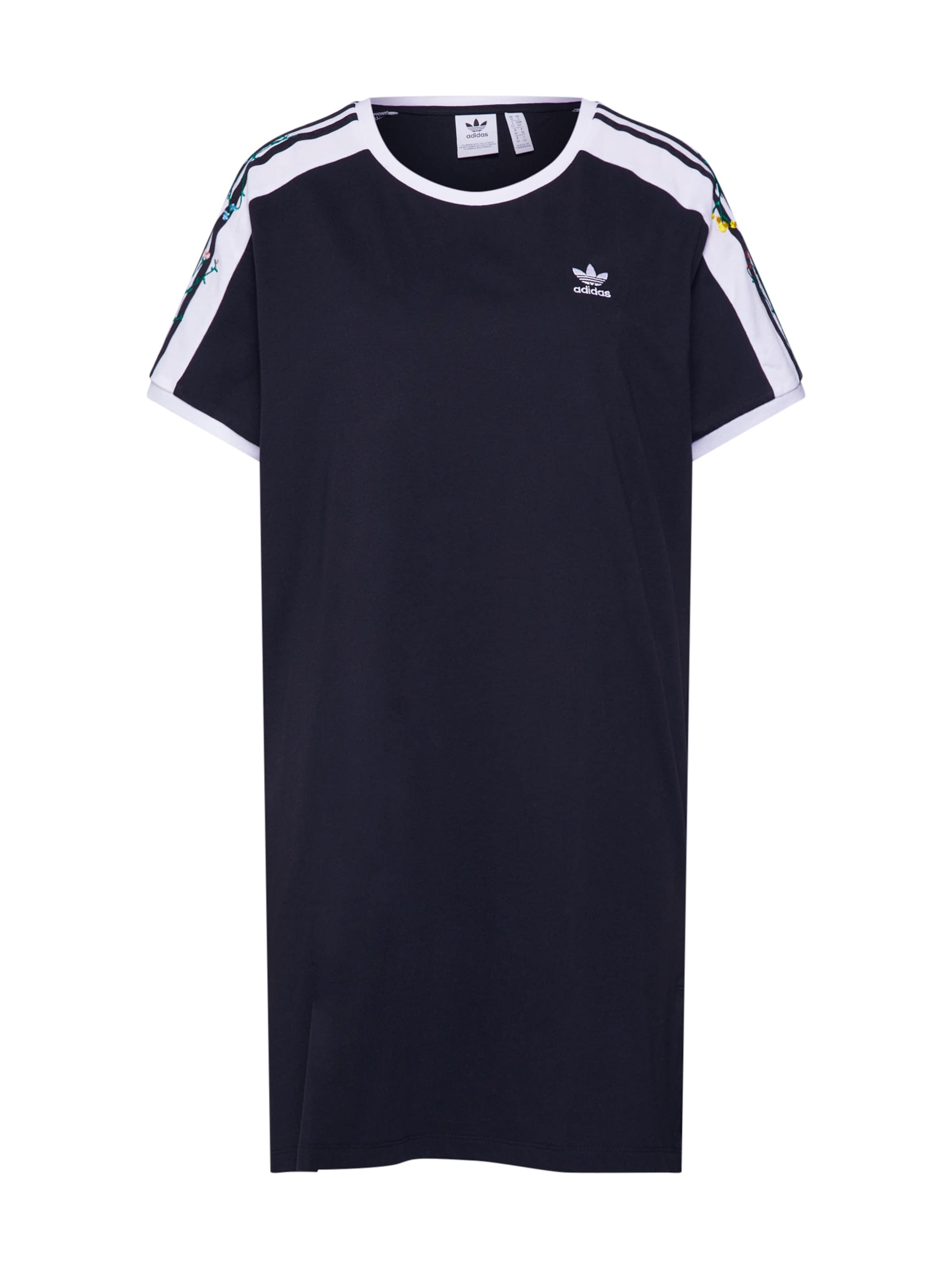 In Schwarz Originals Kleid Adidas CxstrhQd