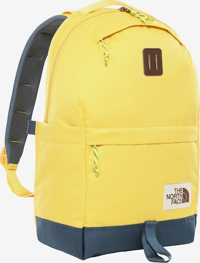 THE NORTH FACE Rucksack in taubenblau / gelb, Produktansicht