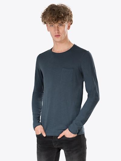 BLEND Shirt in dunkelblau: Frontalansicht