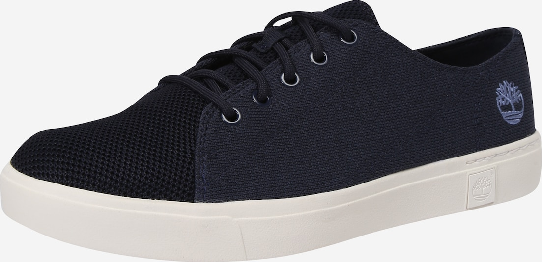 TIMBERLAND Sneakers laag 'Amherst Flexi Knit Ox' in de kleur Navy / Wit, Productweergave