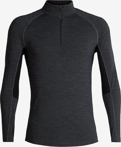 Icebreaker Shirt ' 200 Zone LS Half Zip ' in schwarz, Produktansicht