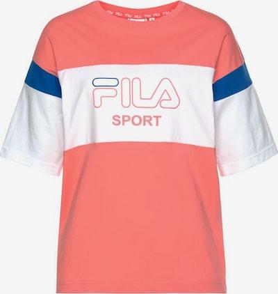 FILA Shirt 'LALETTE' in rosa / weiß, Produktansicht