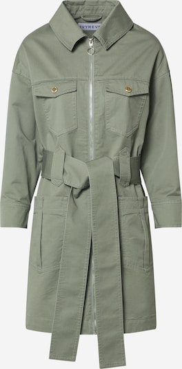 IVYREVEL Blousejurk 'UTILITY TWILL' in de kleur Groen, Productweergave