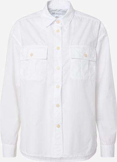 GAP Bluza 'LS CAMP SHIRT' | volneno bela barva, Prikaz izdelka