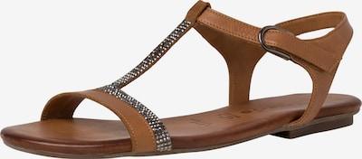 TAMARIS Sandaal in de kleur Bruin, Productweergave