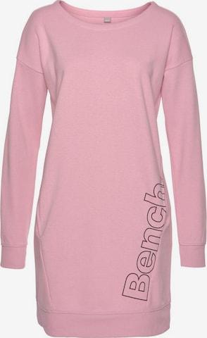BENCH Shirt Dress in Pink