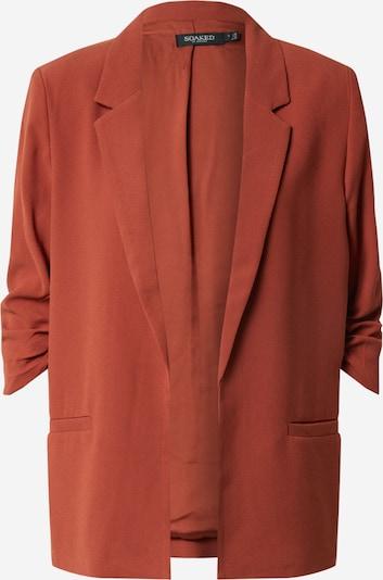 SOAKED IN LUXURY Blazer 'Shirley' in rostrot, Produktansicht