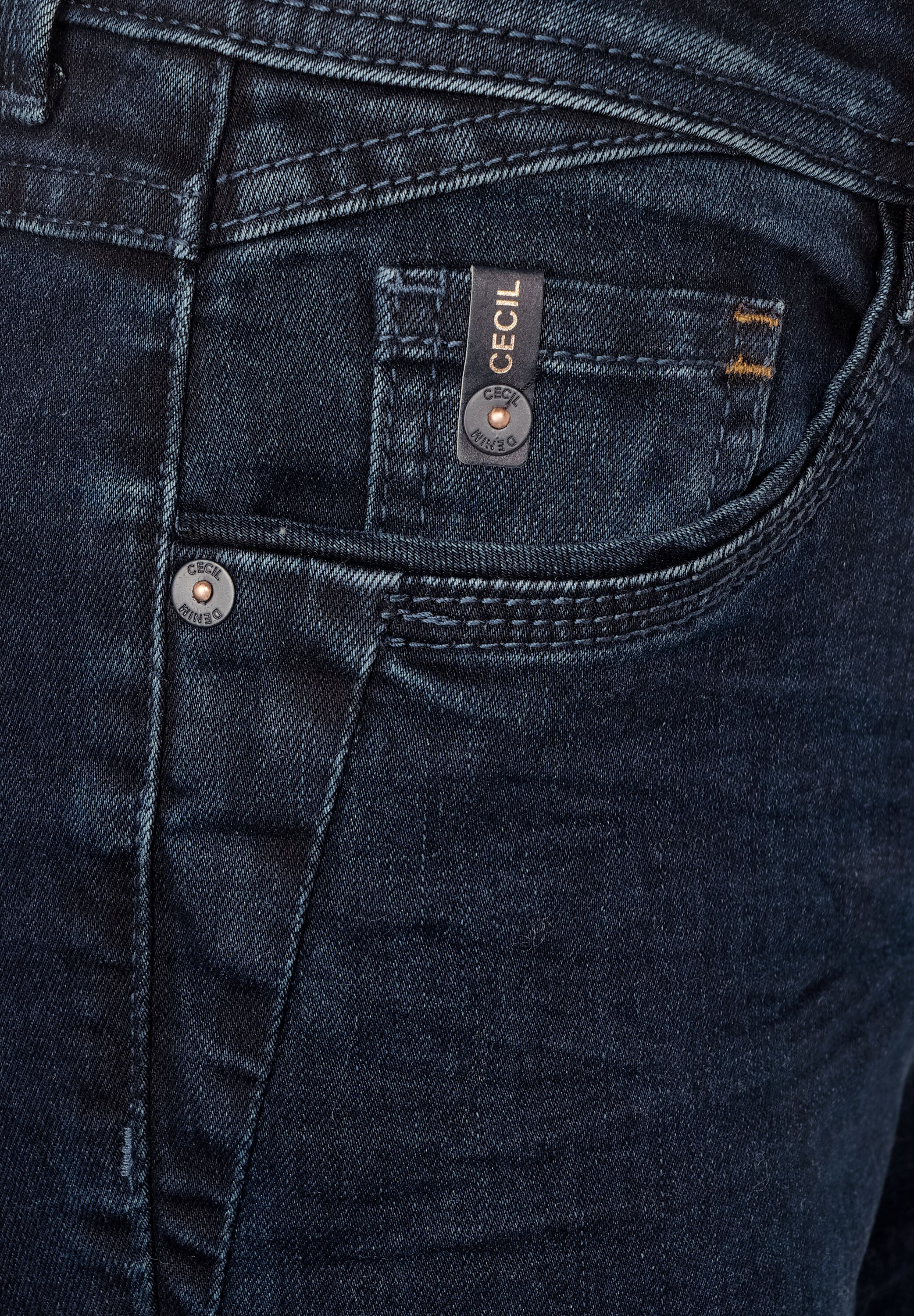 CECIL Jeans in dunkelblau 48f4j3nY