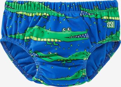 SCHIESSER Schwimmwindel in blau / royalblau / gelb / grün, Produktansicht