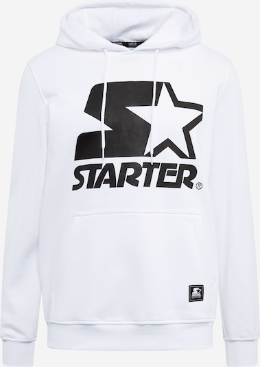 Starter Black Label Sweat-shirt 'Starter The Classic Logo Hoody ' en blanc, Vue avec produit