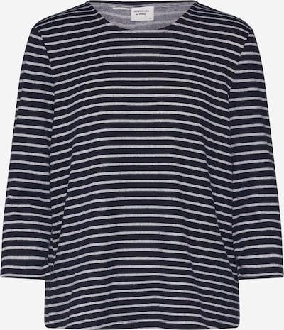 JACQUELINE de YONG T-shirt 'JDYMARIAONE TREATS' en bleu marine / gris, Vue avec produit