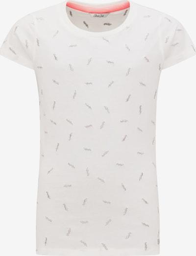 Petrol Industries T-Shirt in beige / weiß: Frontalansicht
