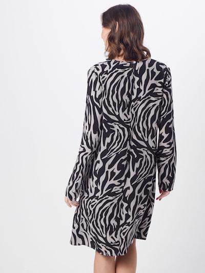 DRYKORN Sukienka 'JOSY' w kolorze szary / czarnym: Widok od tyłu