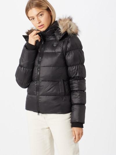 Herrlicher Kurtka zimowa 'Cora' w kolorze czarnym, Podgląd na modelu(-ce)