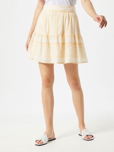 VERO MODA Sukňa 'HAZEL' - žlté / biela, Model/-ka