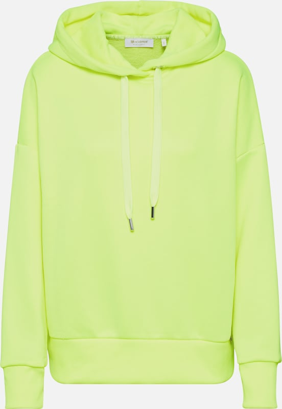 Rich & Royal Sweatshirt 'Felpa' in de kleur Neongeel, Productweergave