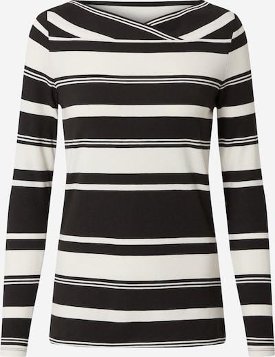 Esprit Collection Koszulka 'Noos' w kolorze czarny / białym: Widok z przodu
